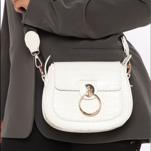 White handbag-NEW